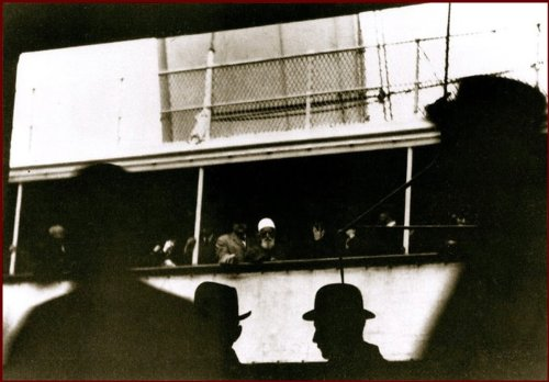 Abdul-Baha: Eldest Son Of Bahaullah, Founder Of The Bahai Faith 1892 Vintage Old Photo 12 X 15 Inches # 79, 'Abdu'L-Baha Aboard The S.S. Celtic, December 5, 1912