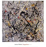 "Number 18, 1950 by Jackson Pollock 24""x24"" Art Print Poster"