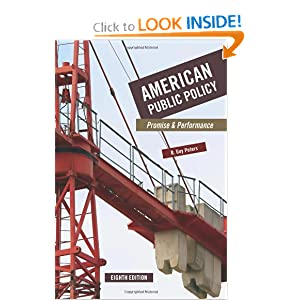 American Public Policy: Promise and Performance e-book