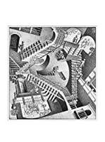 Artopweb Panel Decorativo Escher Relativity, 1953 - 43x40 cm