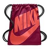Nike Unisex Heritage Gym Sack - BA5351 (Team RED/Team RED/Rush Coral) (Color: TEAM RED/TEAM RED/RUSH CORAL, Tamaño: One Size)