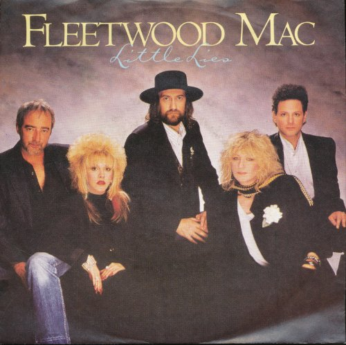 little lies / ricky 45 rpm single (Fleetwood Mac 45 Rpm compare prices)