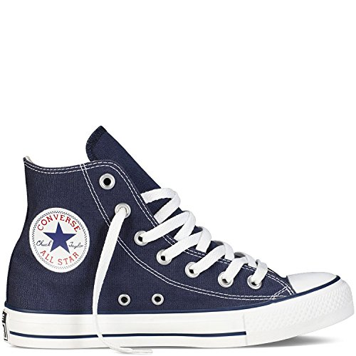 Converse Unisex All Star Hi's Basketball Shoes - Navy - 5