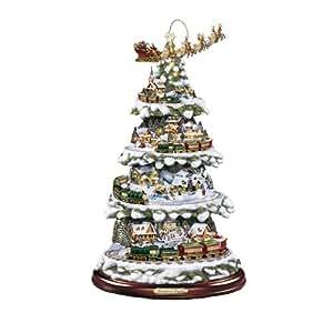 thomas kinkade wonderland express weihnachtsbaum mit licht. Black Bedroom Furniture Sets. Home Design Ideas