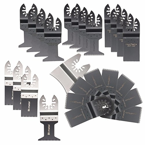 BABAN Universal Oscillating Multitool Saw Blade Set, 25 Items (Blade Tool compare prices)
