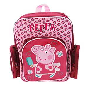 Peppa Pig Hopscotch Large Backpack with compartments