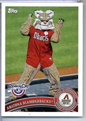 2011 Topps Opening Day Mascots Baseball Card #M1 Arizona Diamondbacks - Arizona Diamondbacks - MLB Trading Card
