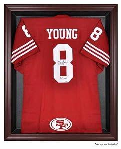 Mounted Memories San Francisco 49ers Mahogany Frame Jersey Display Case