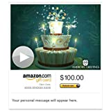 Amazon Gift Card - E-mail - Bewitched Birthday (Animated) [American Greetings]