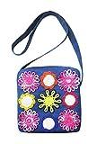 Juhi Malhotra Women's Sling Bag (Blue) (Model 6)
