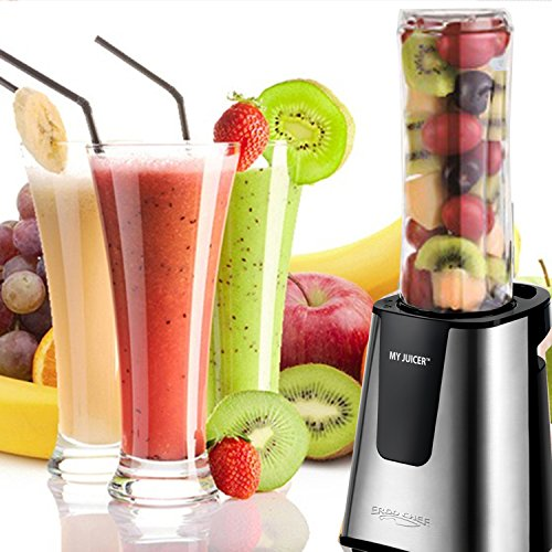 Ergo Chef My Juicer II Personal Juicer Smoothie Blender 300-Watt Stainless Steel (Compression Juicer compare prices)