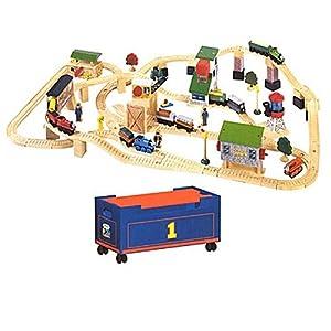 thomas friends wooden railway lift load set toys games. Black Bedroom Furniture Sets. Home Design Ideas