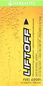 Herbalife Liftoff Ignite-Me Orange (Box of 10 Tablets)