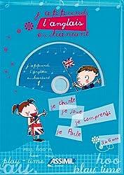 J'apprends l'anglais en chantant ; Album + CD Audio