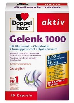Doppelherz aktiv Gelenk 1000, 3er Pack (3 x 40 Kapseln)