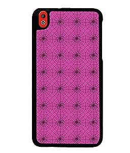 PrintVisa Plastic Multicolor Back Cover For HTC Desire 816 G
