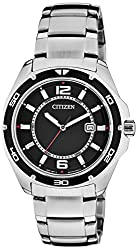 Citizen Analog Black Dial Mens Watch BK2520-53E