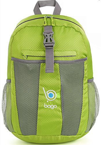 Packable Backpacks for Air Travel Carry On Camping Backpacking Daypacks (GREEN) (Small Cooler For Water compare prices)