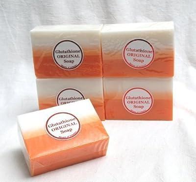 Kojic Acid & Glutathione Dual Whitening Bleaching Soap BUY 4 GET 1 FREE by DERMALINE