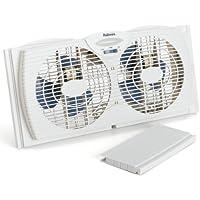 Holmes HAWF2021-WMUM Dual Blade Twin Window Fan (White)