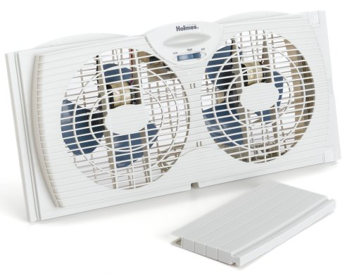 holmes-dual-blade-twin-window-fan-white