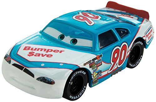 Disney/Pixar Cars, Piston Cup 2015 Series Die-Cast Vehicle, Ponchy Wipeout [Bumper Save] #3/18, 1:55 Scale