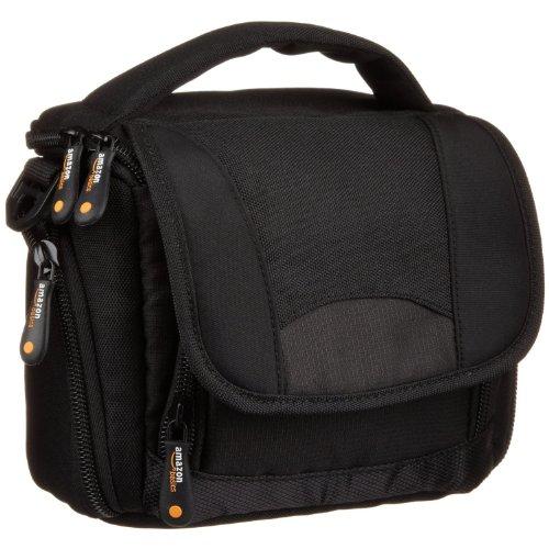 AmazonBasics Camcorder Bag with Shoulder Strap Black