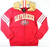 "San Francisco 49ers NFL Youth Full Zip ""Helmet"" Hoodie (Youth Medium 10/12)"