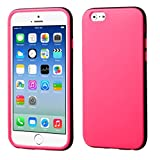 Product B00PB5UYAU - Product title MyBat iPhone 6 Two-Color Candy Skin Cover - Retail Packaging - Black/Pink