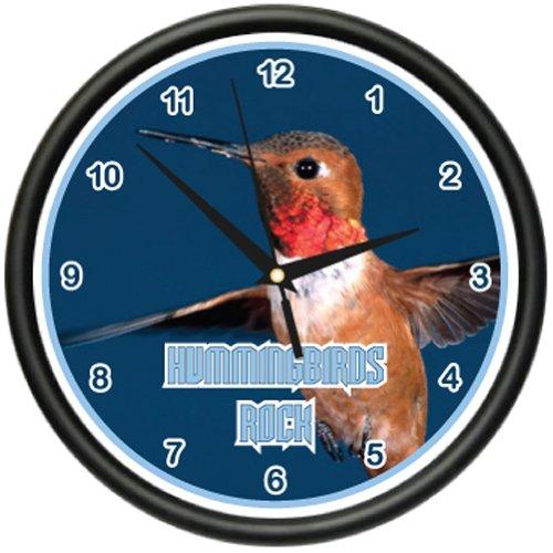 HUMMINGBIRD Wall Clock bird watching watcher's gift