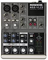Mackie 402-VLZ3 Premium 4-Channel Ultra-Compact Mixer