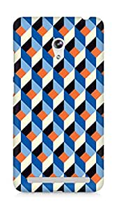 Amez designer printed 3d premium high quality back case cover for Asus Zenfone 6 (Pattern 2)