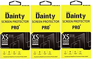 Dainty Premium Curve ( Pack of 3 ) Tempered Glass for Motorola Moto G4 plus +