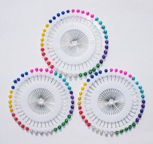 long-pearl-pins-for-dress-making-tailor-40-pins-a-wheel-get-3-for-the-price-of-2