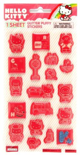 Stickerfitti Sanrio Hello Kitty Puffy Stickers