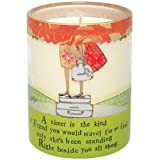 Santa Barbara Design Studio Curly Girl Filled Soy Candle Sister Is The Kind Of Friend
