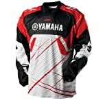 2013 One Industries Carbon Yamaha Jersey (MEDIUM) (RED)