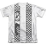 Elvis Presley Checkered Bowling Shirt Mens Sublimation Shirt