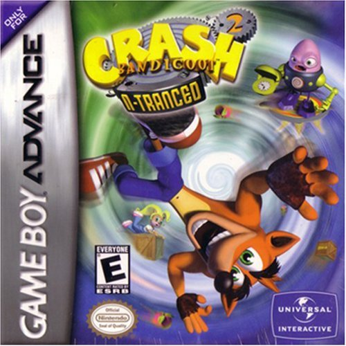 Crash Bandicoot 2: N-tranced by Universal Interactive (Gameboy Advance Crash Bandicoot compare prices)