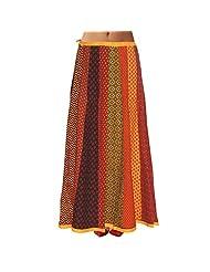 Sttoffa Womens Cotton Skirts -Multi-Colour -Free Size - B00MJO7WBU