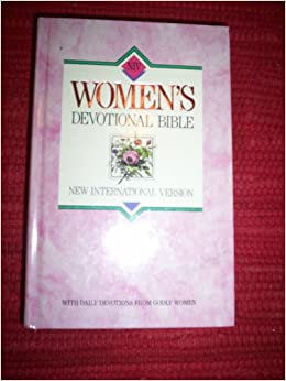 WOMEN'S DEVOTIONAL BIBLE, NIV, DAILY DEVOTIONAL, 1455 Pages PAPERBACK 1990 GE83