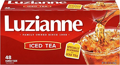 Luzianne Specially Blended for Iced Tea, Family Size, 48-Count Tea Bags (Pack of 6)