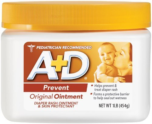 A+D Original Ointment, Diaper Rash And All-Purpose Skincare Formula 1 Lb (454 G) (Pack Of 2) front-23146