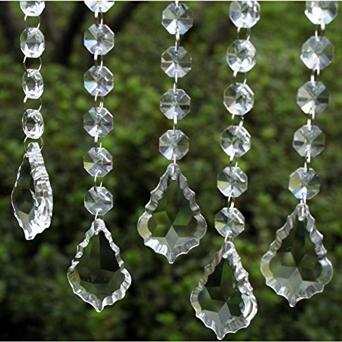 Soledi Shining 10pcs Hot Elegant Beautiful Clear Crystal