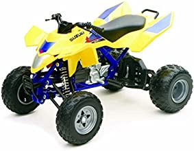 Newray 1:12 Suzuki Quadracer R450 ATV, Yellow