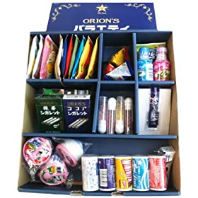 【Amazon.co.jp限定】 オリオンバラエティギフト(懐かしのラムネ菓子17種類 計38個入り)