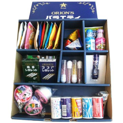 【Amazon.co.jp限定】オリオンバラエティギフト(懐かしのラムネ菓子17種類 計38個入り)