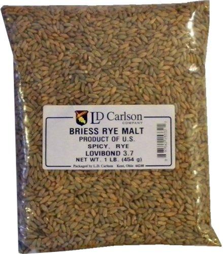Rye Malt (1 lb) Milled