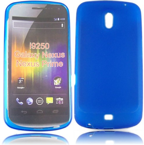 Gel Decken Fall Haut F&#252;r Samsung Galaxy Nexus i9250 / Blue