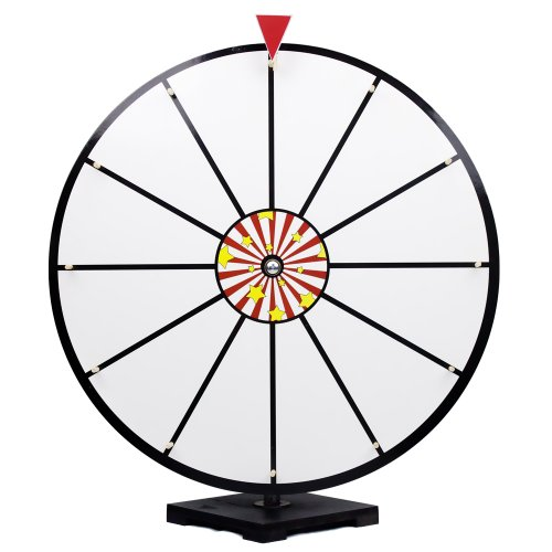 Cheapest Prices! 24 Inch White Dry Erase Prize Wheel By Midway Monsters